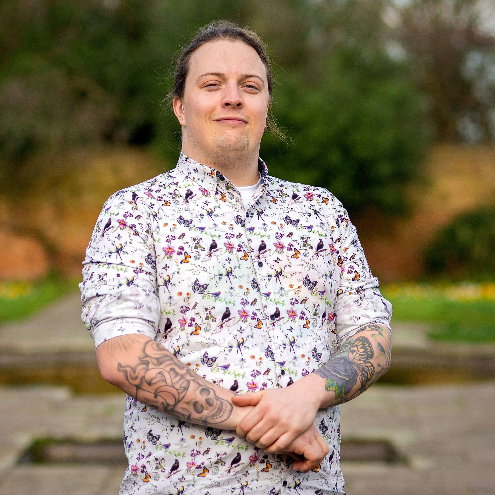 Reece Learmouth is the Green Party candidate for Eastwood Park.