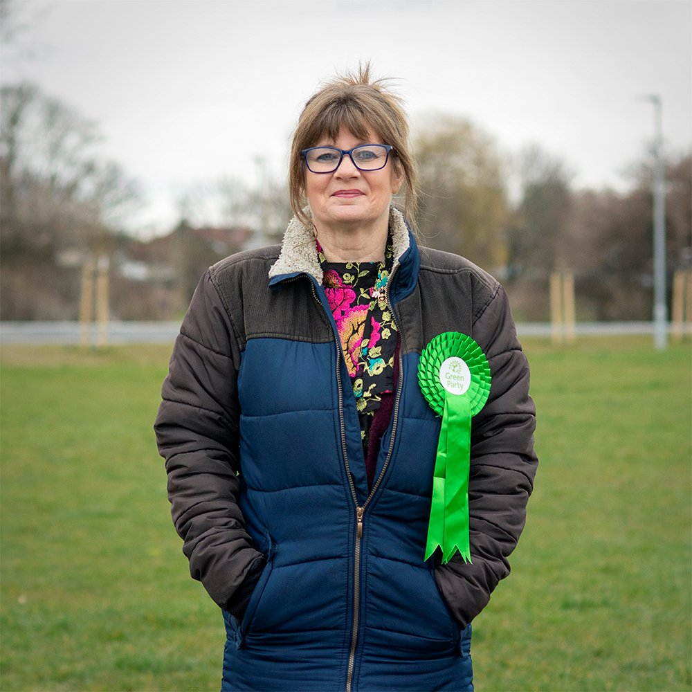 Julie Callow is the Green Party candidate for Thorpe