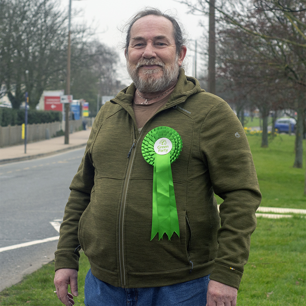 Jon Mullett is the Green Party Candidate for Prittlewell.
