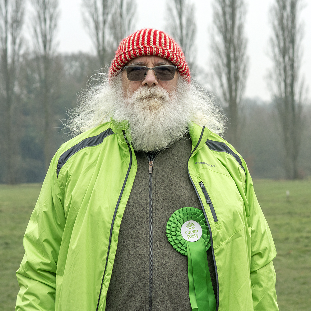Peter Walker is the Green Party Belfairs Ward candidate.