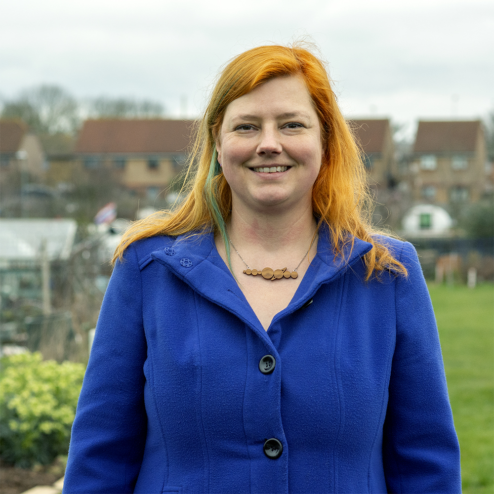 Tilly Hogrebe is the Green Party candidate for St Luke's