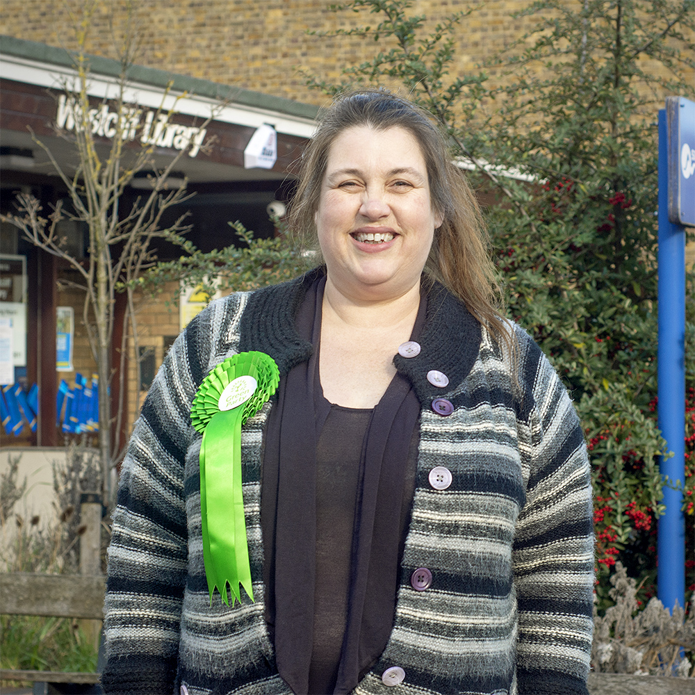 Vida Guildford is one of the Green Party candidates for Westborough.