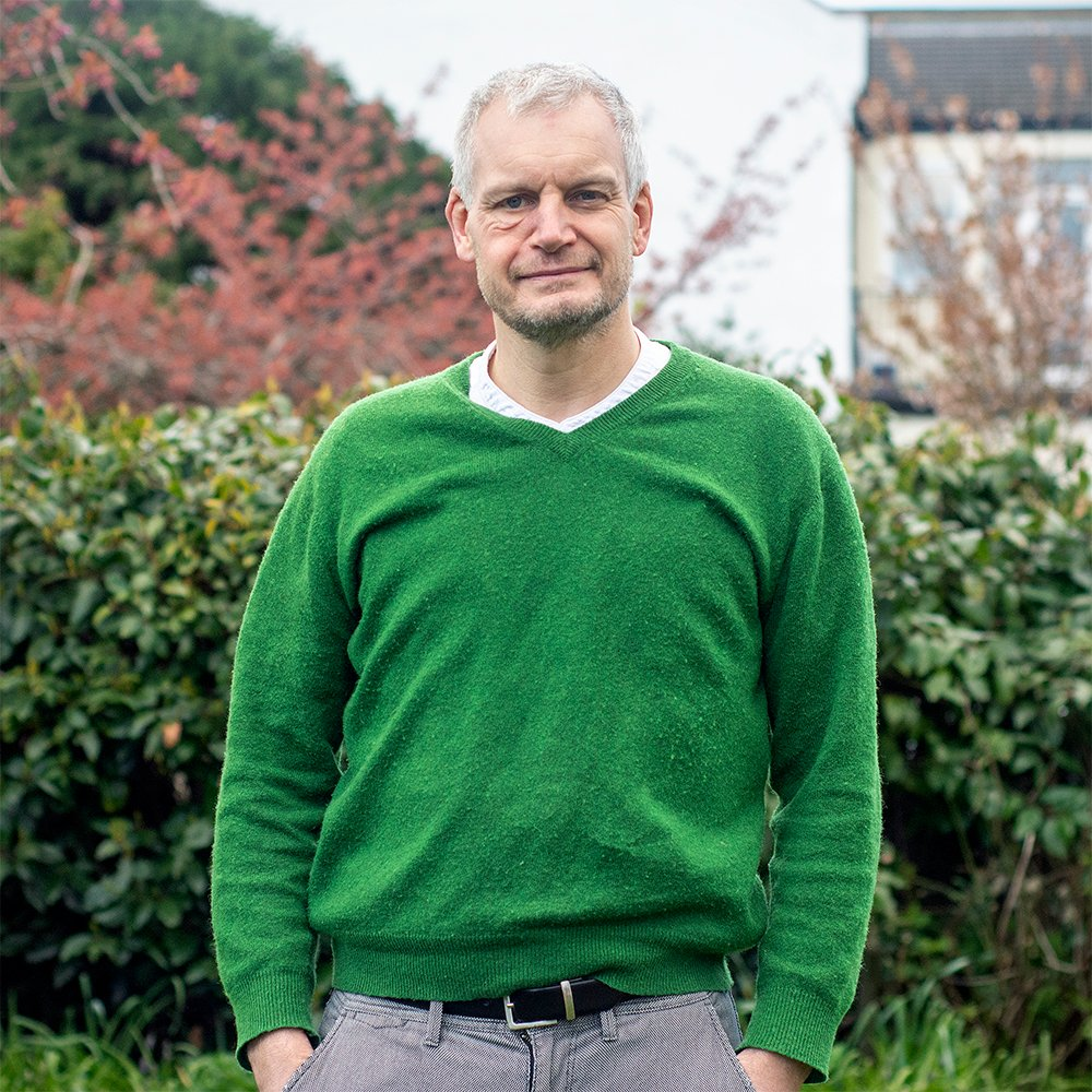 Richard Longstaff is the Green Party candidate for Leigh Ward.